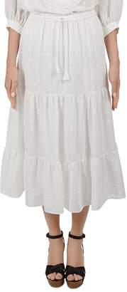 Gerard Darel Arlene Embroidered Skirt