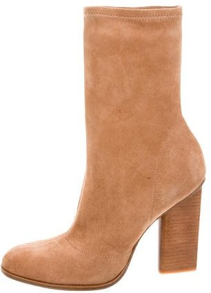 Alexander Wang Alexander Wang Gia Suede Ankle Boots