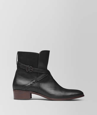 Bottega Veneta NERO CALF ANKLE BOOT