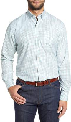 Peter Millar Crown Ease Marketplace Regular Fit Check Sport Shirt