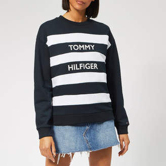 c4132773ed67 Tommy Hilfiger Blue Sweats   Hoodies For Women - ShopStyle UK