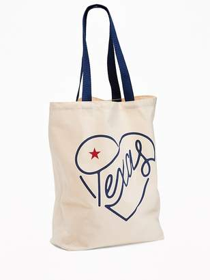 Old Navy Texas Graphic Canvas Tote for Women