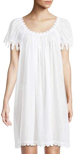 Celestine Aphrodite Cap-Sleeve Chemise