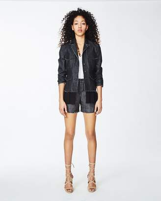 Nicole Miller Dark Denim Jacket