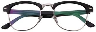 575 Denim Jcerki Bi Tao Mens Women Fashion Nearsighted Myopia Shortsighted Glasses -0.50 StrengthsThese are not reading glasses
