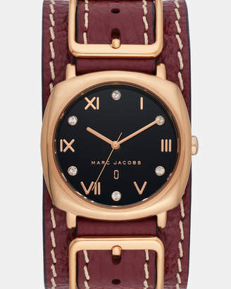 Marc Jacobs Mandy Red Analogue Watch