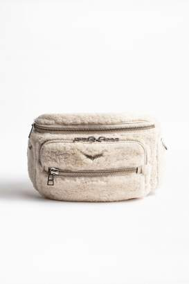 Zadig & Voltaire Zadig Voltaire Shearling Fanny Pack