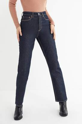 BDG High-Rise Relaxed Straight Jean – Rinsed