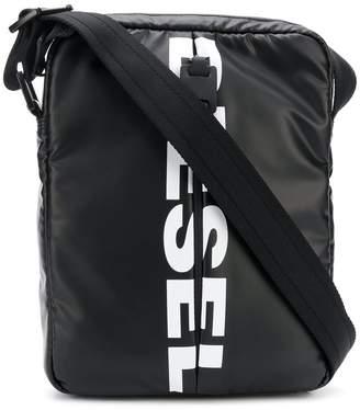 Diesel logo cross-body bag