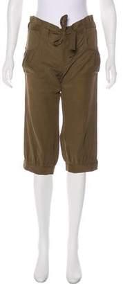 Diane von Furstenberg Mid-Rise Cropped Pants