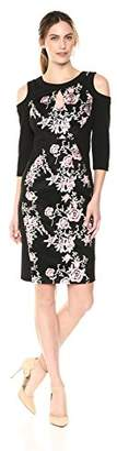 Jax Women's Embroidered Keyhole Dress