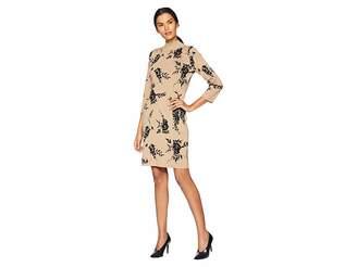 Calvin Klein Mock Neck Sweater Dress Women's Dress