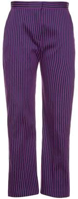 Maison Rabih Kayrouz striped straight-leg trousers