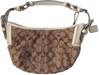 Coach Beige Cotton Handbag