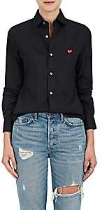 Comme des Garcons Women's Cotton Poplin Shirt - Black