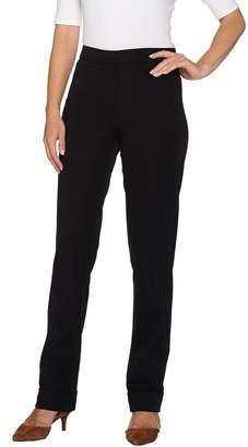Isaac Mizrahi Live! Petite 24/7 Stretch Cuffed Straight Leg Pants