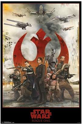 Star Wars Trends International Rogue One: A Story Assemble Poster 34x22