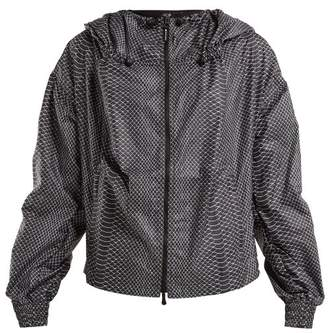 adidas by Stella McCartney Run Adizero Gathered Performance Jacket - Womens - Black Multi