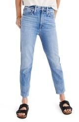 Madewell The Momjean High Waist Jeans