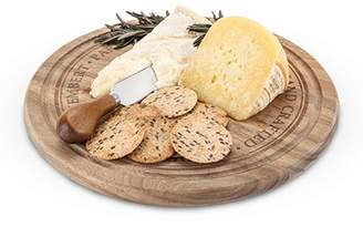Twine Rustic Farmhouse: Rounded Cheese Board & Knife Set