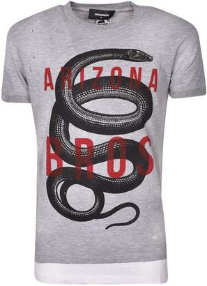DSQUARED2 Snake Motif T-shirt