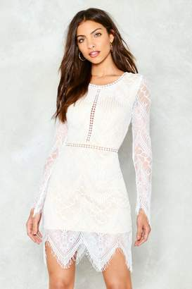 Nasty Gal One More Night Lace Mini Dress