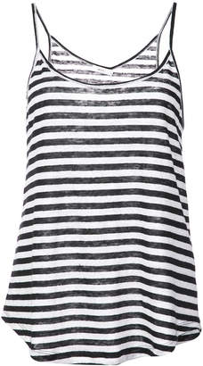 A.L.C. striped fitted tank top