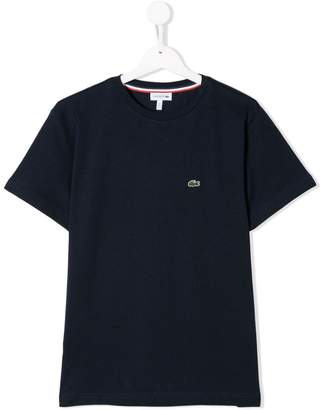 Lacoste Kids TEEN embroidered logo T-shirt