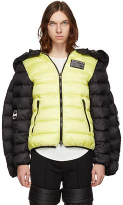 Colmar A.G.E. by Shayne Oliver Yellow and Black Down Christye Jacket
