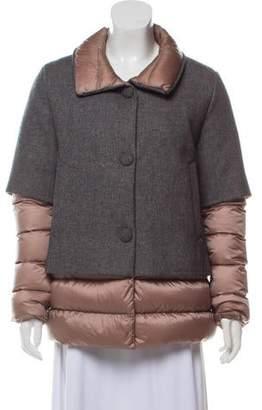 d4c1a7895 Wool Puffer Jacket - ShopStyle