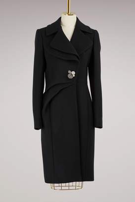 Lanvin Jewel-button coat
