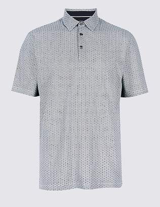 Marks and Spencer Regular Fit Pure Cotton Polo Shirt