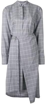 Christian Wijnants Glen check shirt dress