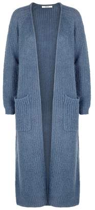 Gestuz Hally Chunky-knit Mohair-blend Cardigan