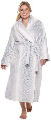 Sonoma Goods For Life Plus Size SONOMA Goods for Life Plush Long Robe