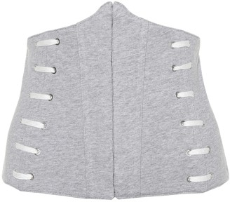 Jonathan Simkhai Whipstitch cotton corset