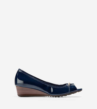 Cole Haan Emory Braided Open Toe Wedge (40mm)