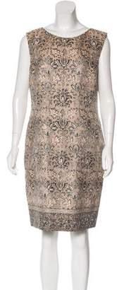 Alberta Ferretti Silk-Blend Dress
