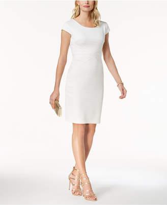 Sangria Textured Sheath Dress, Regular & Petite Sizes