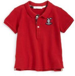 Burberry Infant's Pique Polo Shirt $60 thestylecure.com
