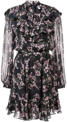 Zimmermann Fleeting flounce mini dress