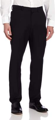 Perry Ellis Slim Fit Flat Front Dress Pant