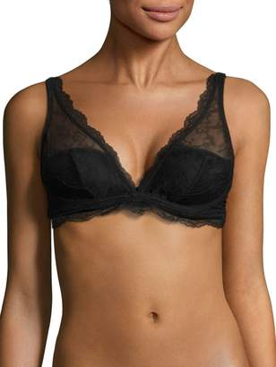 Le Mystere The Perfect 10 Lace Full-Cup Bra