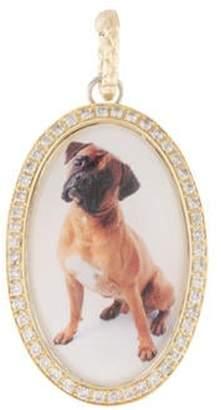 Hellmuth Diamond Dog Pendant Necklace yellow Diamond Dog Pendant Necklace