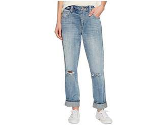 Lucky Brand High-Rise Tomboy Jeans in Headliner Chew