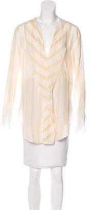 By Malene Birger Silk Long Sleeve Top