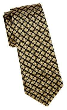 Saks Fifth Avenue Embroidered Silk Tie