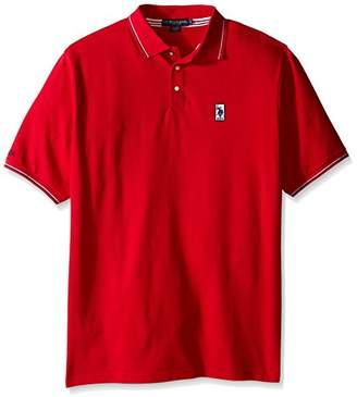 U.S. Polo Assn. Men's Big & Tall Solid Pique Polo Shirt