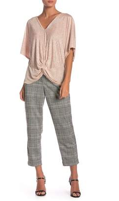 June & Hudson Houndstooth Cropped Pants