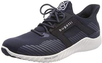 Mens 322308025400 Trainers, Blue Bugatti